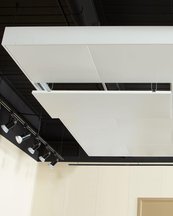 Ceiling interior design