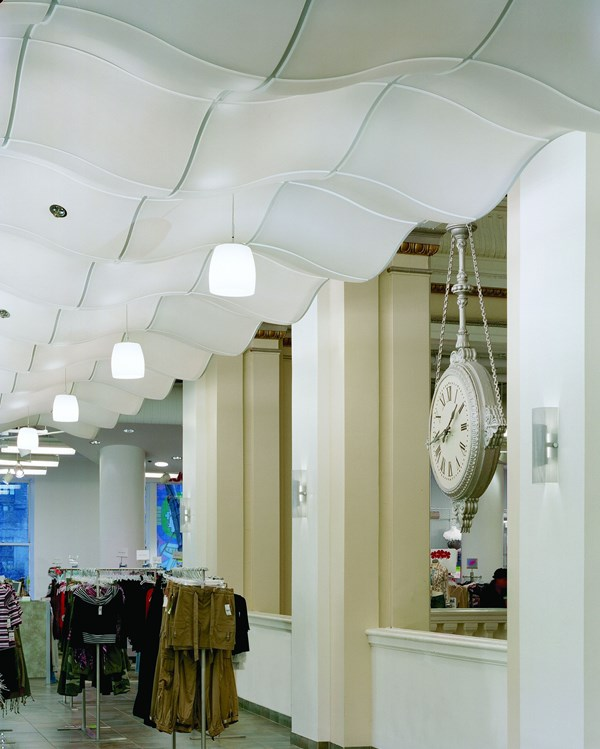 Topo™ 3-Dimensional Ceiling Suspension System