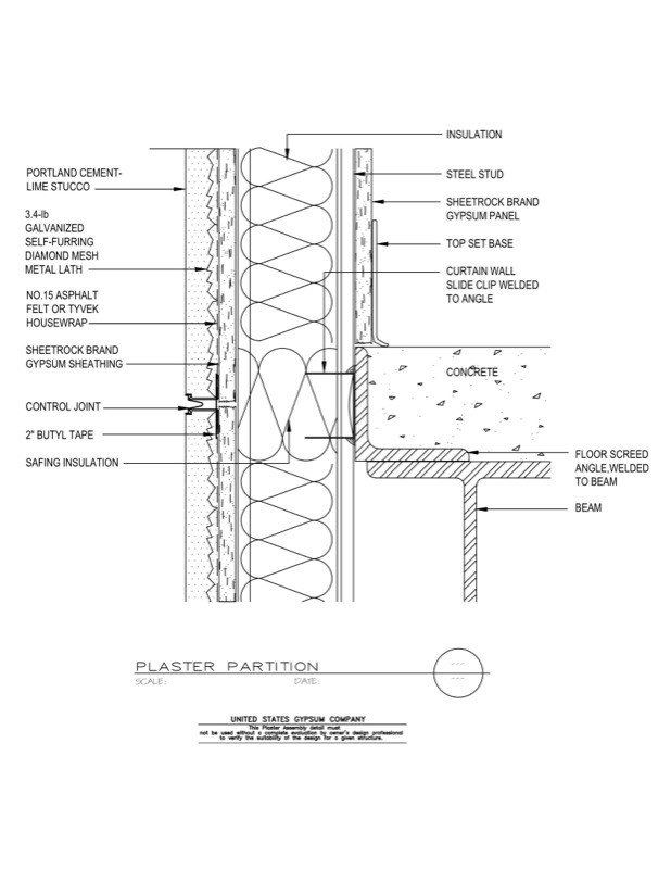 Usg Design Studio 09 21 13 161 Plaster Wall Concrete