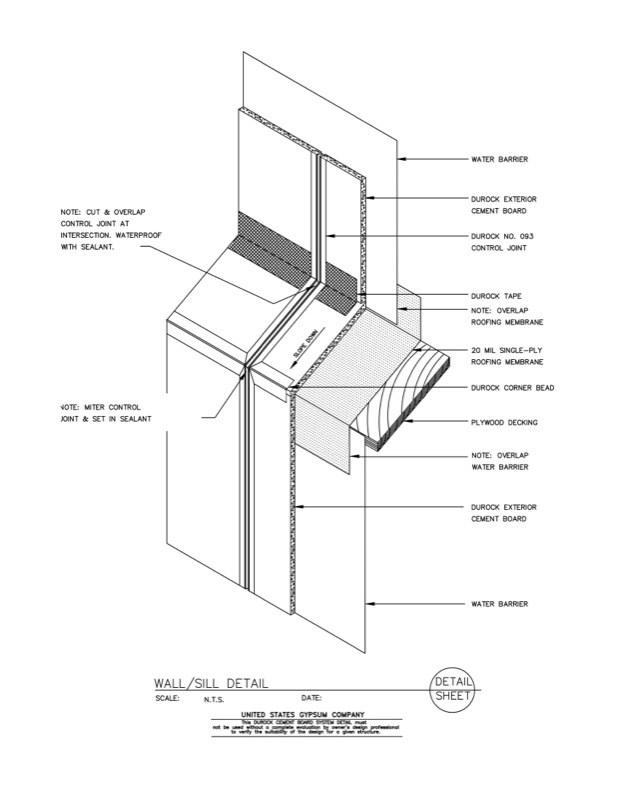 Usg Design Studio 09 21 16 03 109 Durock Isometric Wall