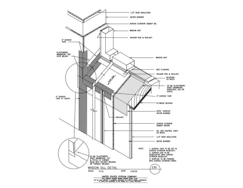 Usg Design Studio 09 21 16 03 123 Durock Isometric