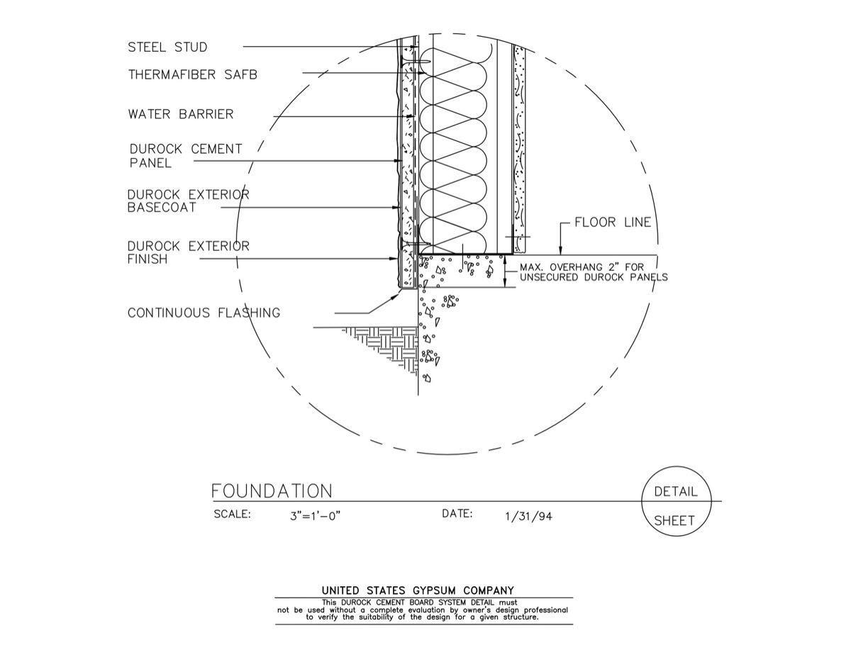 USG Design Studio | Firestop System - Download Details