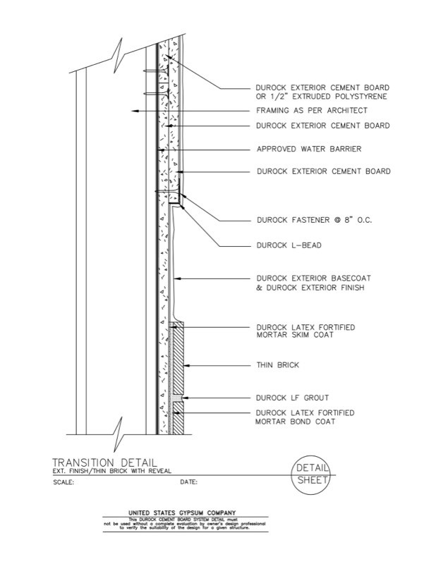 Usg Design Studio 09 21 16 03 174 Durock Material