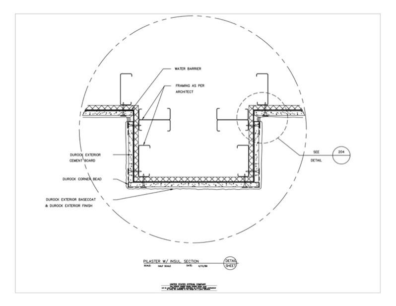 Usg Design Studio 09 21 16 03 2212 Durock Corner Detail