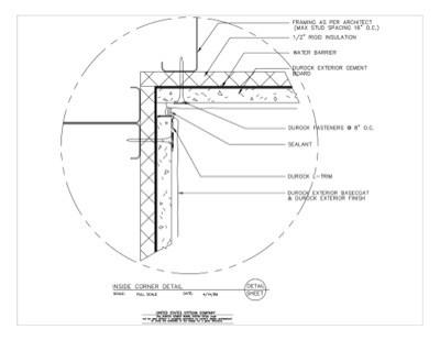 Usg Design Studio 09 21 16 03 221 Durock Inside Corner