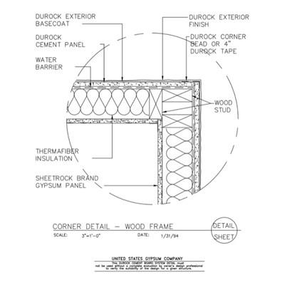 USG Design Studio | Wood Stud Framing - Download Details
