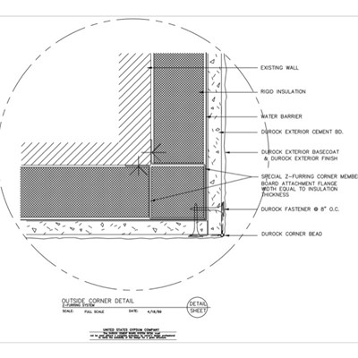 Usg Design Studio Durock Exterior Finishing System