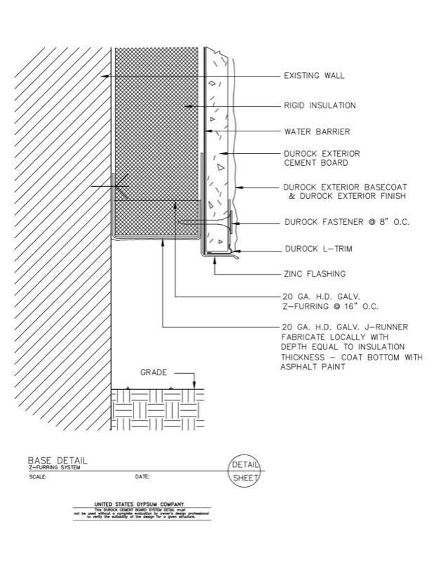 Usg Design Studio 09 21 Durock Base Detail Z