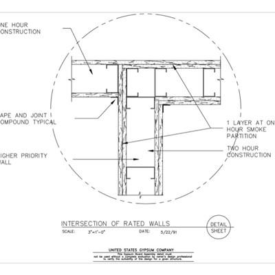 USG Design Studio | Gypsum Board Assembly - Download Details