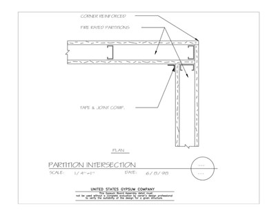 Usg Design Studio Gypsum Board Assemblies Download Details