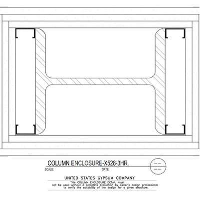 Usg Design Studio 09 21 16 113 317 Gypsum Column