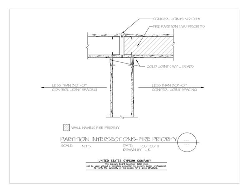 Usg Design Studio 09 21 16 115 Gypsum Board Assembly