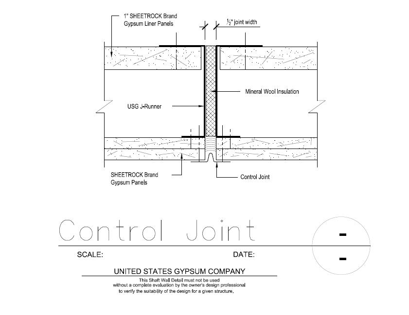 Usg Design Studio 09 21 16 23 103 Shaft Wall Control