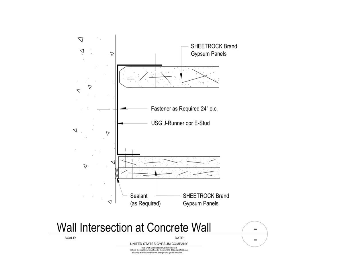 Usg Design Studio 09 21 16 23 117 Shaft Wall Wall