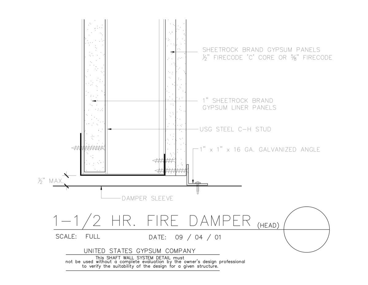 Usg Design Studio Fire Dampers Download Details
