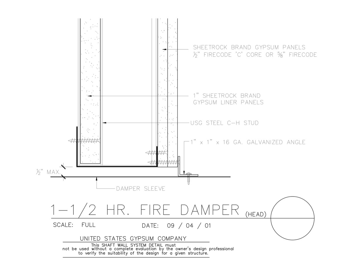 09 21 16 23 201 Shaft Wall Fire Damper Head Download