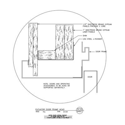 Usg Design Studio Shaft Wall Door Frame Download Details