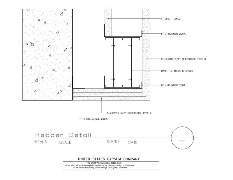 Door header detail size door header garage calculator 10 for 16 garage door header
