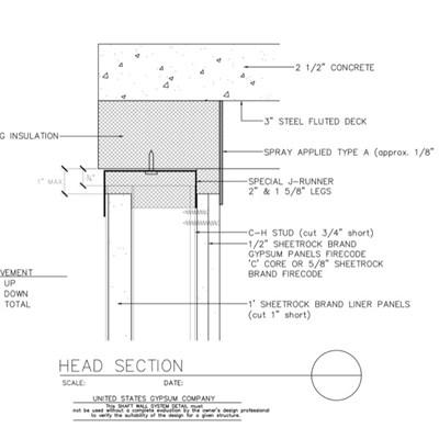 Usg Design Studio Shaft Wall Download Details