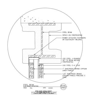 USG Design Studio | Steel Beam - Download Details