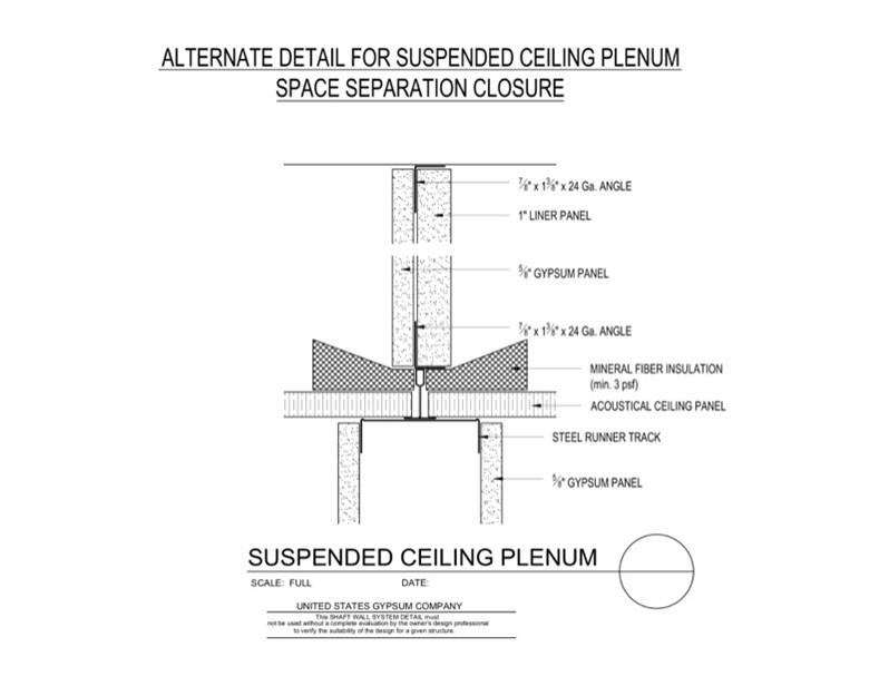 Usg Design Studio 09 21 16 23 4710 Shaft Wall Plenum