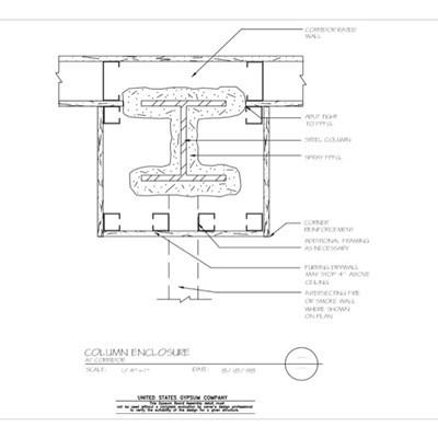Usg Design Studio Column Enclosure Download Details