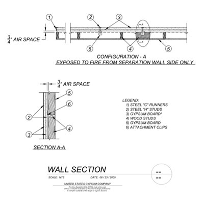 09 21 16.33.002 Area Separation Wall U336 Details-1