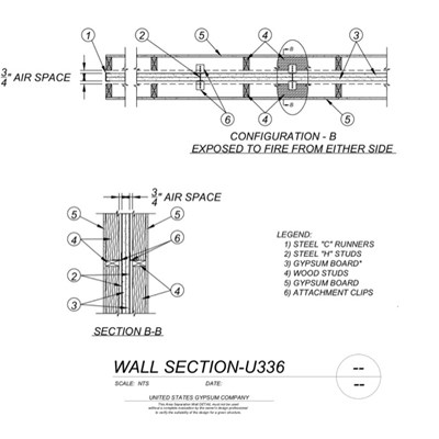 09 21 16.33.003 Area Separation Wall U336 Details-2