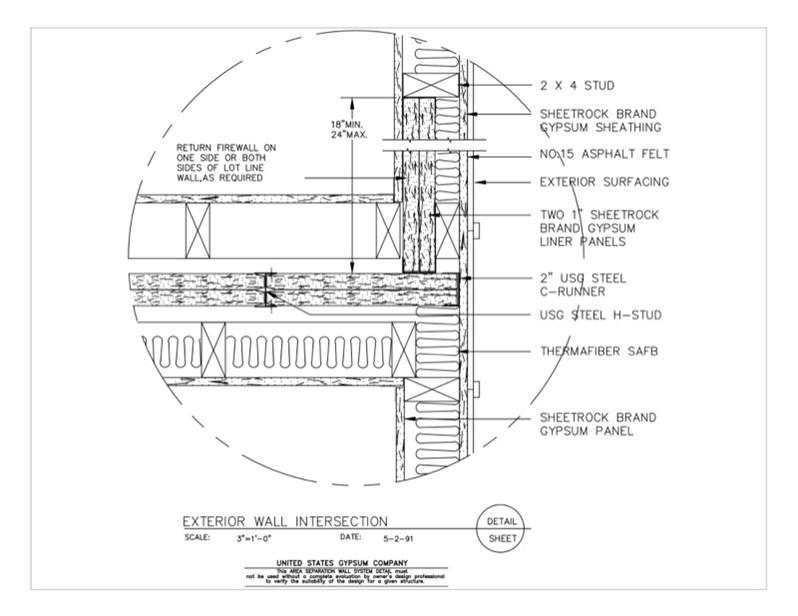Usg Design Studio 09 21 16 33 112 Area Separation Wall