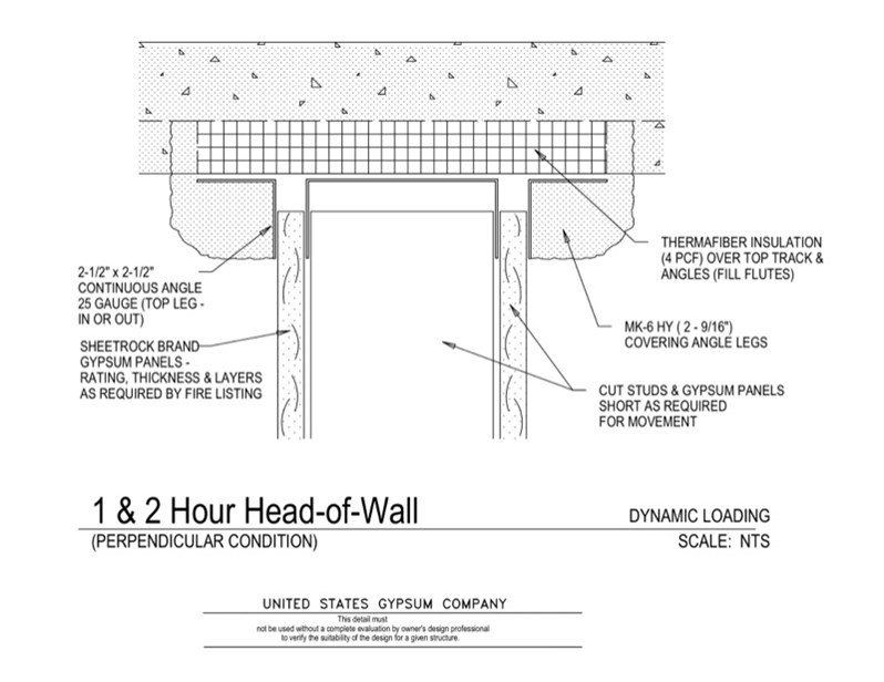 1hr Separation Wall : Hour rated wall detail pictures to pin on pinterest
