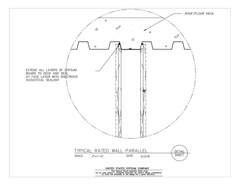 Usg Design Studio 09 21 16 439 Gypsum Board Assembly