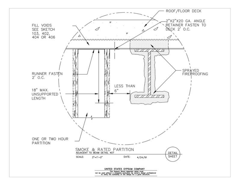 Usg Design Studio 09 21 16 469 Gypsum Board Assembly