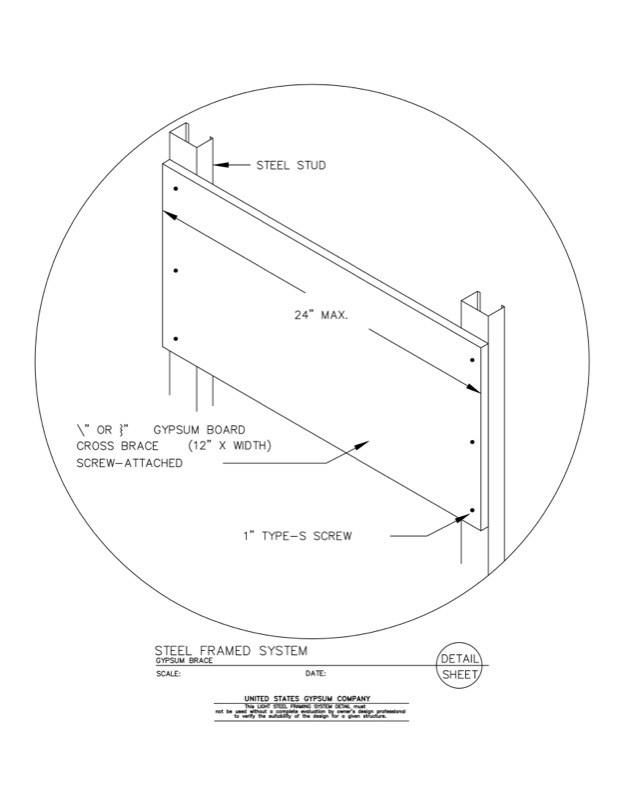 USG Design Studio | 09 21 16.63.3013 Light Steel Framing Structural ...