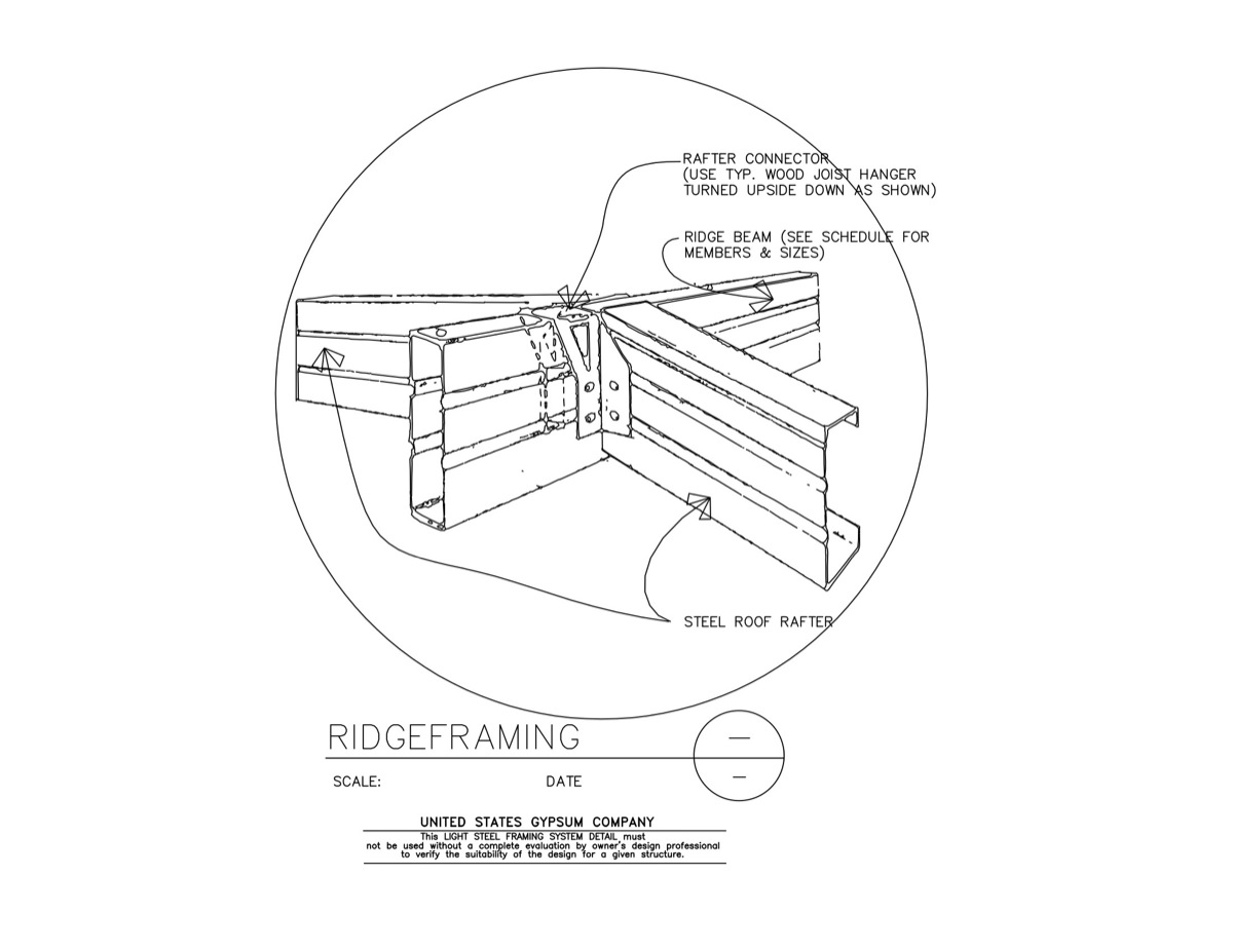 Usg Design Studio 09 21 16 63 306 Light Steel Framing