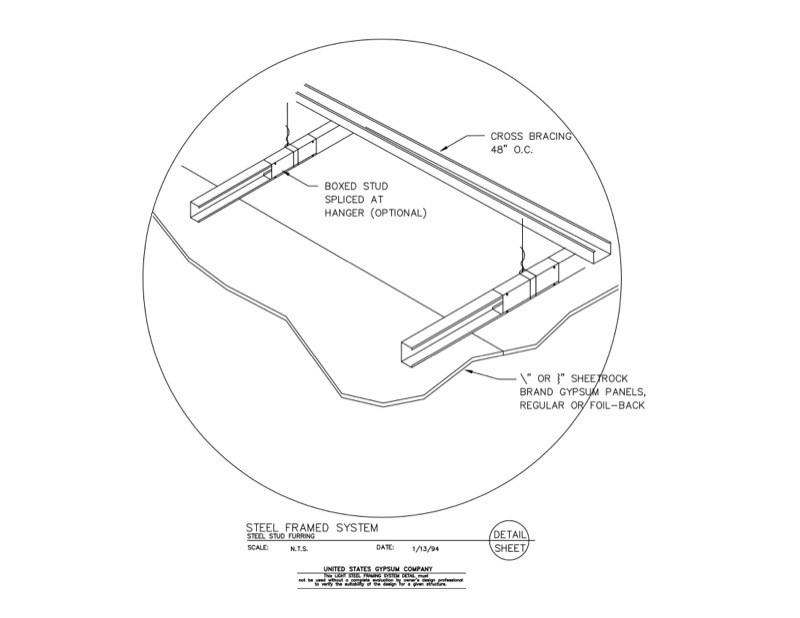 metal stud framing details - Metal Stud Framing Details
