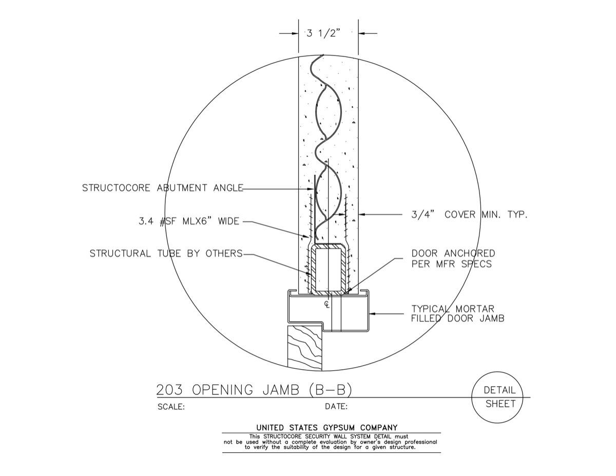 Usg design studio window jamb download details for Window jamb design