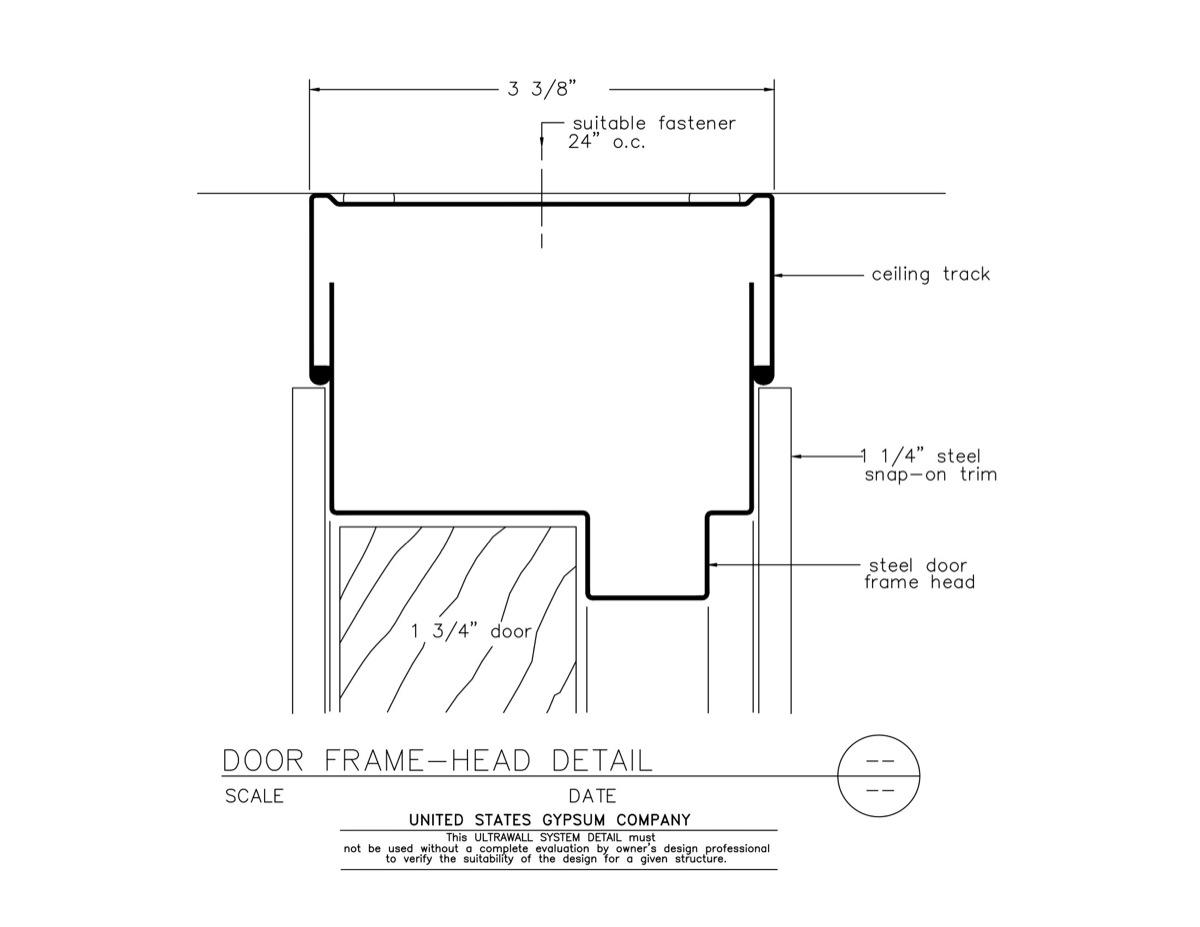 Exterior Door Header Detail Home Design