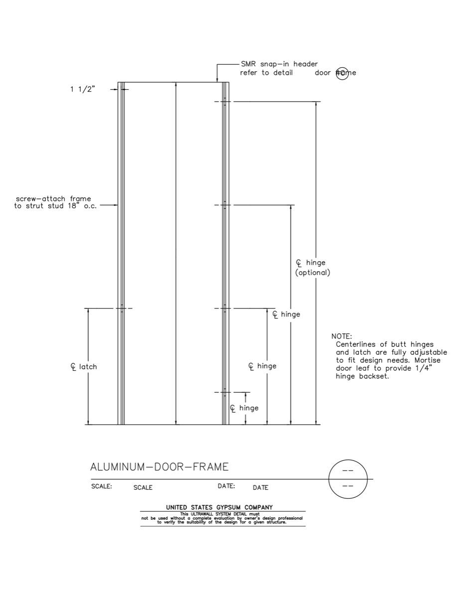 Aluminum door details pictures to pin on pinterest pinsdaddy for Door jamb detail