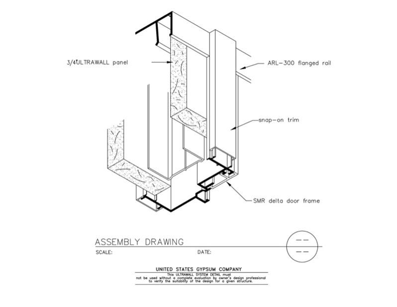 Door Frame: Door Frame Detail