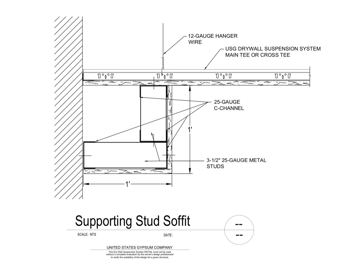 09 21 16 93 231 Dwss Supporting Stud Soffit Download