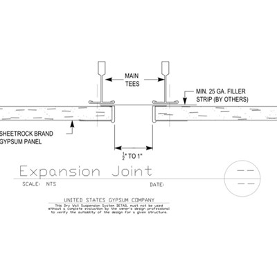 09 21 16.93.274 DWSS Expansion Joint