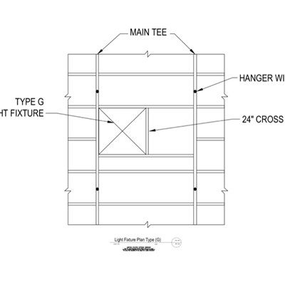 09 21 16.93.325 DWSS Light Fixture Type G Plan