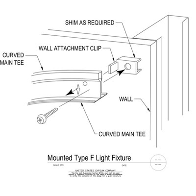09 21 16.93.335 DWSS Curved Main Tee To Parallel Wall