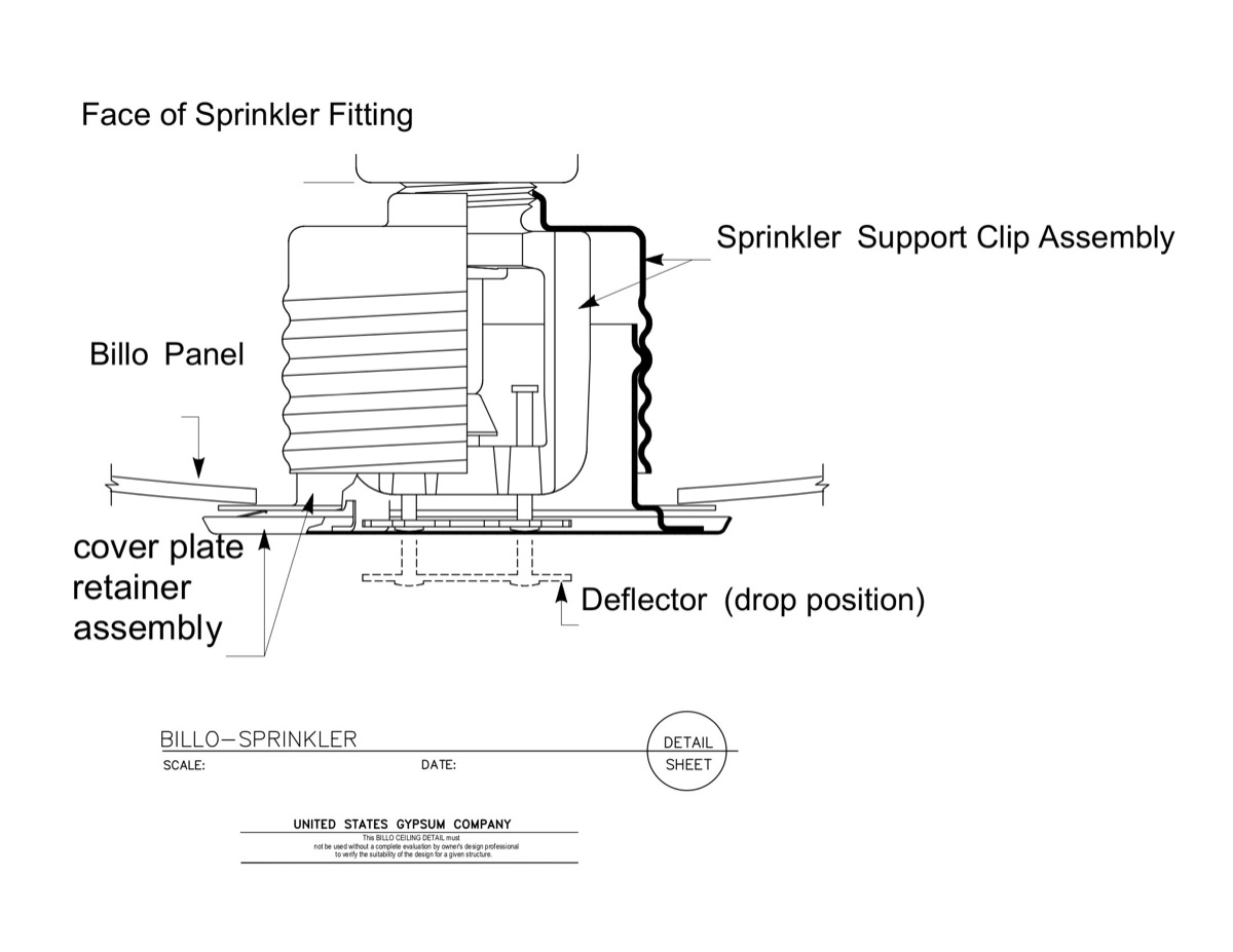 Fire Sprinkler Head Detail Related Keywords & Suggestions - Fire