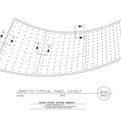 09 53 23.03.001 Libretto Typical Panel Layout