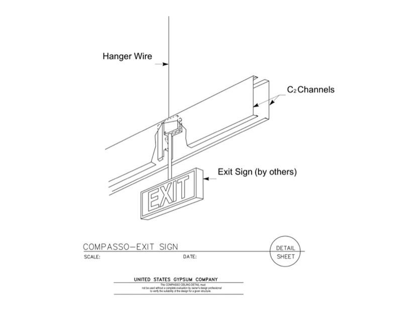 09 54 00.13.136 Specialty Ceilings Compasso H Alt1 Exit
