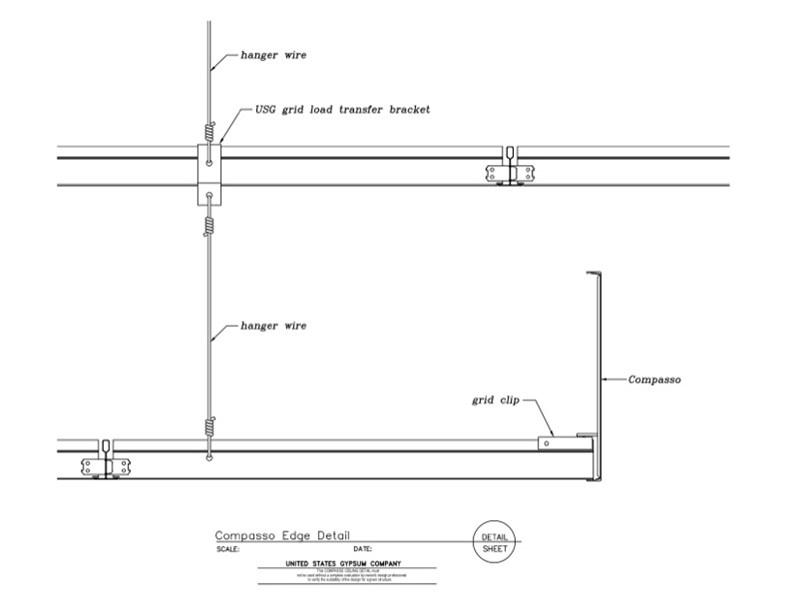 Usg Design Studio 09 54 00 13 163 Specialty Ceilings