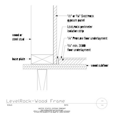 Wood Subfloor - Download Details | USG Design Studio