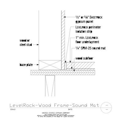 USG Design Studio | Wood Subfloor - Download Details
