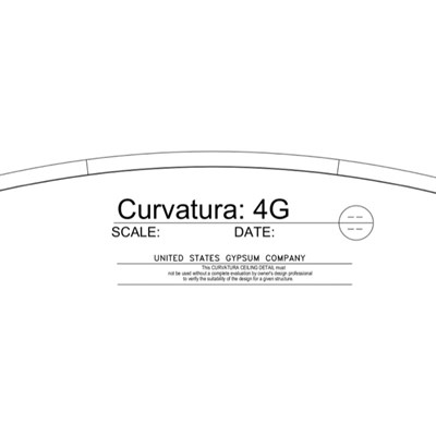 09 54 13.13.168 Specialty Ceilings Curvatura 4G Profile